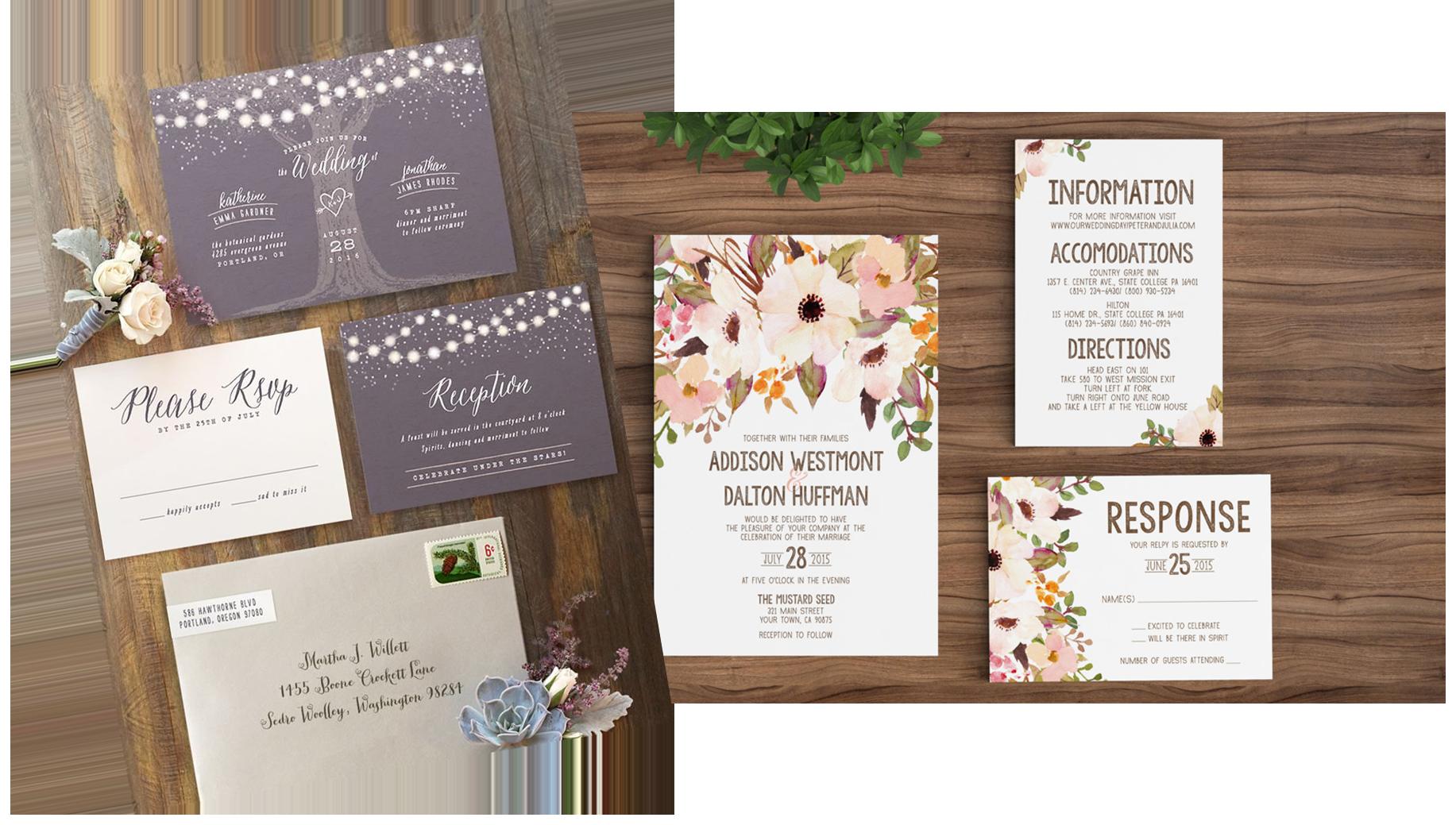 invite - Save the Date Cards vs Invitations