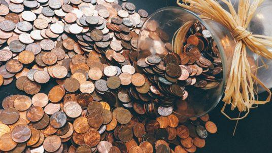 coins 912718 960 720 536x302 - Making & Keeping a Wedding Budget