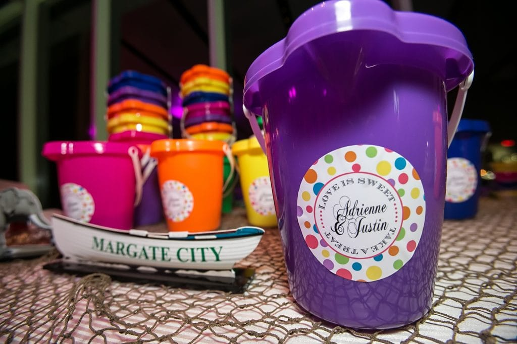 Beach Bucket Candy holders 1024x683 - Details and Decoration