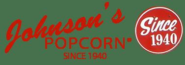 Johnsons popcorn logo - Johnson's Popcorn