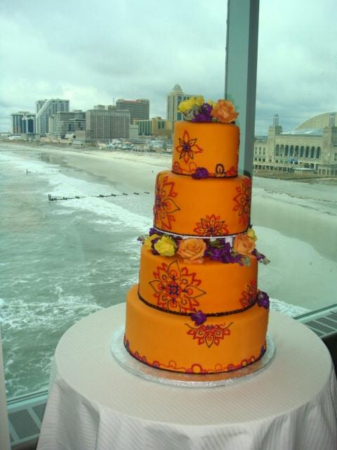 Wedding Cake with a View - Wedding Cake