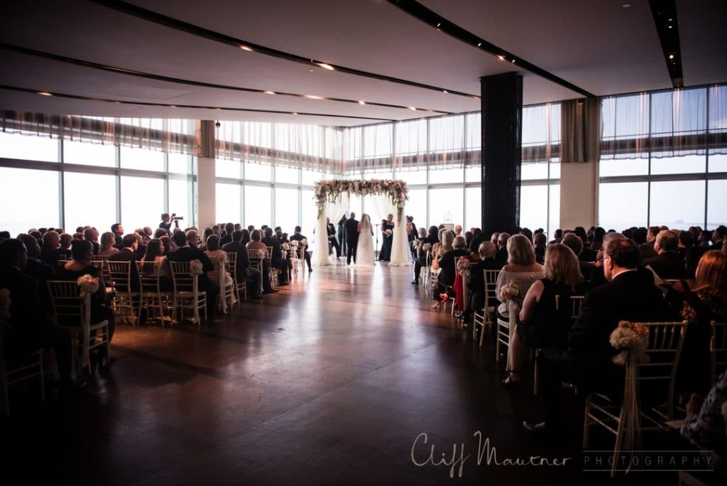 Large ceremony corner with Guests 1024x684 - Kosher Weddings