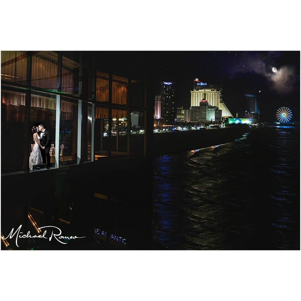 The Wheel and the couple at night 1024x1024 - Couples & Bridal Parties