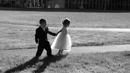 Children b w 1 536x302 - How to tell your guests that your wedding is Adults Only